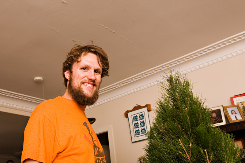 Decorating the Christmas Tree 2008