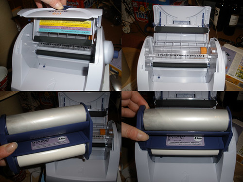 Xyron 510 sticker maker, changing the cartridge, part 2