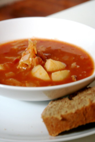 allow the soup to cook for soup s on sweet sour russian cabbage soup ...