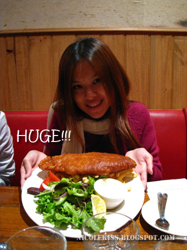 huge fish and chip