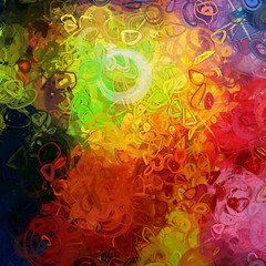 Color Conjurer (PatrickGunderson) Tags: desktop pink blue red orange abstract green art lines yellow composition digital painting square design rainbow spectrum strokes circles flash curves patrick loops adobe programming generative exploration sprites generated colorfield roygbiv actionscript spirograph nonfigurative 1080p gunderson as3 epicycles graphicsmagick