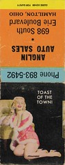 Anglin Auto Sales (Focht) Tags: ephemera matchbooks matchbook matchcover