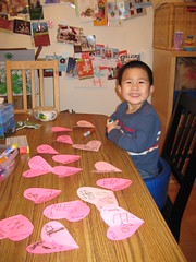 Owen with his cards