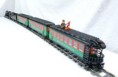 PolEx_09 (SavaTheAggie) Tags: santa train lego magic engine steam locomotive express passenger polar claus pere marquette 1225 9v pm1225