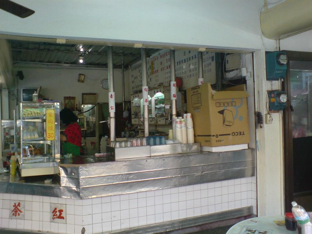 廟口紅茶店一景