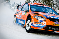 WRC Rally Norway (John Erik) Tags: winter snow cold cars ford ice norway nikon racing wrc snø expert rallycar d300 rallynorway henningsolberg budor 1685mm