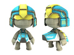 LittleBigPlanet WipEout costume 1