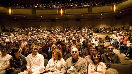 3D Show Audience