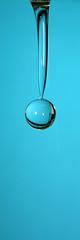 Blauer Kirsch Wassertropfen - Blue cherry waterdrop (Jrgenshaus) Tags: blue macro cherry blau waterdrops highspeed wassertropfen kirsche bigmomma babymomma canonefs1755mmf28isusm thechallengefactory