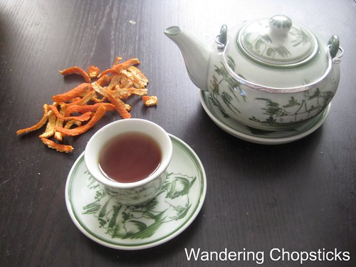 Mandarin Orange Peel Tea