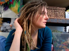 .. (Gravitational Wool) Tags: dreadlocks hoop photobooth dancing hula hoops dreads hooping dreadhead