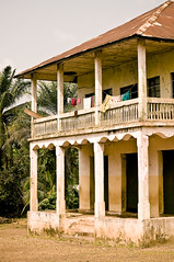 Blama Village VI (unipus) Tags: africa architecture sierraleone blama