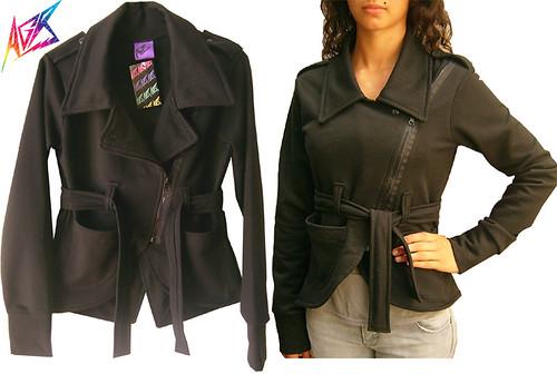 chaqueta rock chaqueta rocker roquera Colección Otoño Invierno 2009 moda argentina independiente diseñador 2009