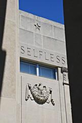 Selfless (Viajante) Tags: morning sculpture window mississippi jackson relief hindscounty warmemorialbuilding nikond80 nikon18135mm3556