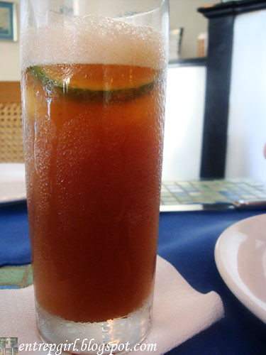 Via Mare iced tea