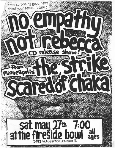 No Empathy - Not Rebecca - The Strike - Scared of Chaka