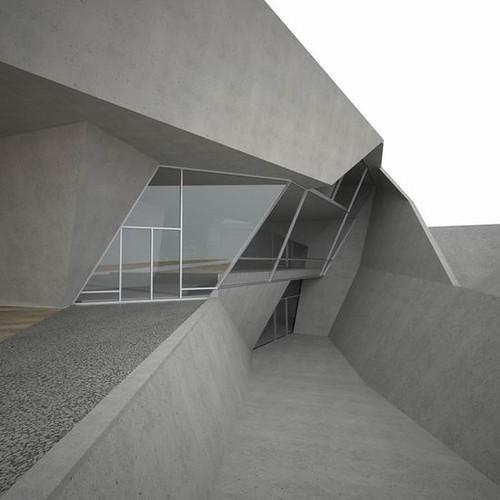 Futuristic Architecture Design of ORDOS 100 1