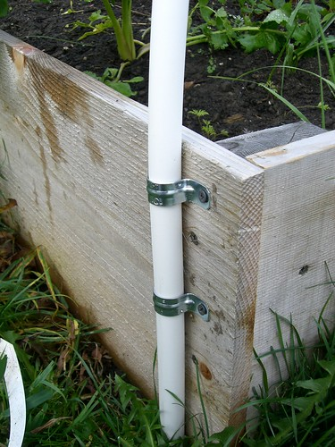 How To Make A Hoophouse On A Raised Bed Organic
