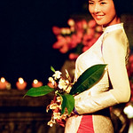 The so-called Vietnamese Ao Dai (a film shot)