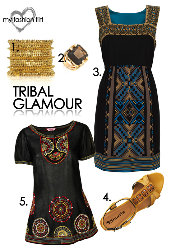 My Fashion Flirt: Tribal Glamour Look 2