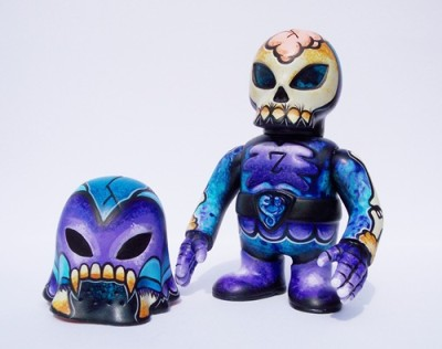 It Came From Skullbrain Custom Toy Show