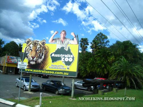 australia zoo sign