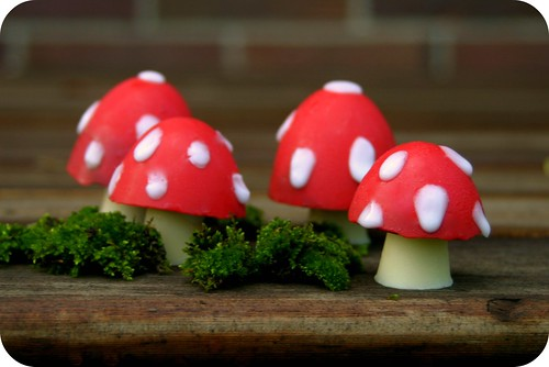Chocolate Toadstools