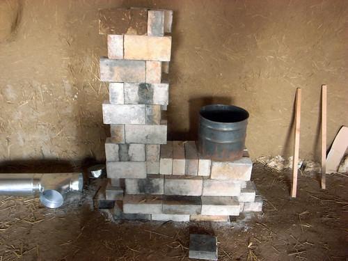 Barrel wood stove update - YouTube