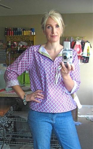 Summer Blouse front