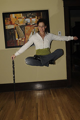 My Girlfriend Levitating (David Kevitch) Tags: levitation