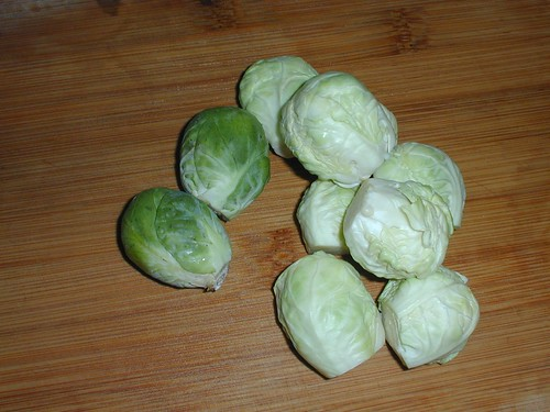 Raw Brussels Sprouts