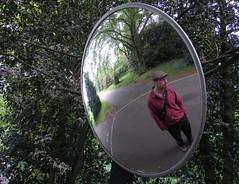 chimp (estherase) Tags: emssimp findleastinteresting 0f si friend mirror reflection kew kewgardens friends