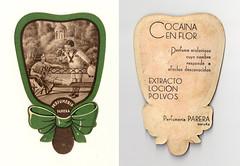 Cocana en flor (Bellwizard) Tags: vintage perfume perfum cocaine parfum etiqueta polvos parera parfumerie perfumery perfumera cocana extracto locin