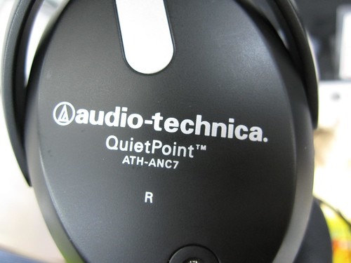 Audio Technica ATH-ANC7 noise cancelling headphone