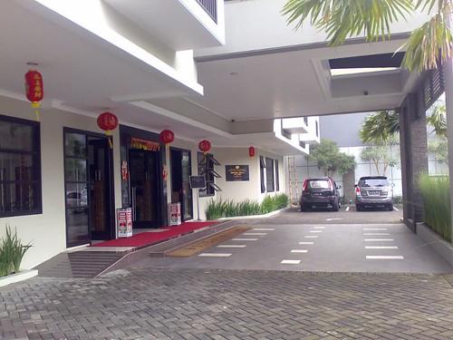 Lapangan Parkir Hotel Mulia