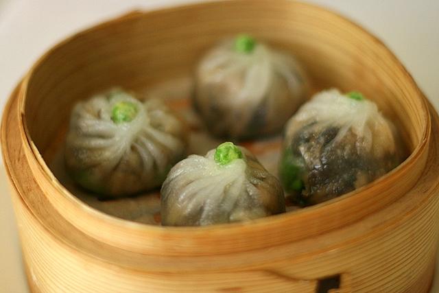 Steamed Mushroom Dumpling (vegetarian)