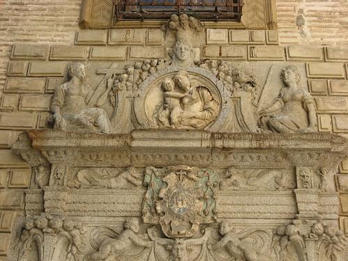 Portada del Colegio de Infantes (Toledo)