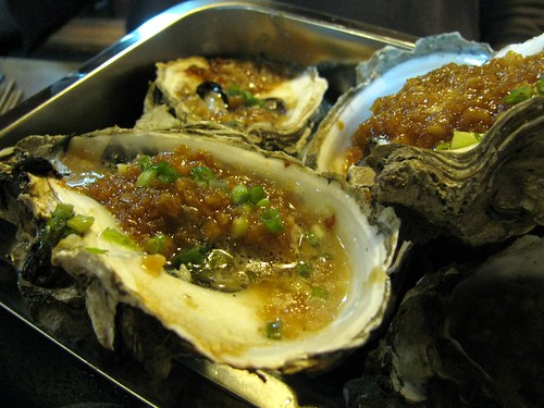 bbq baked oysters