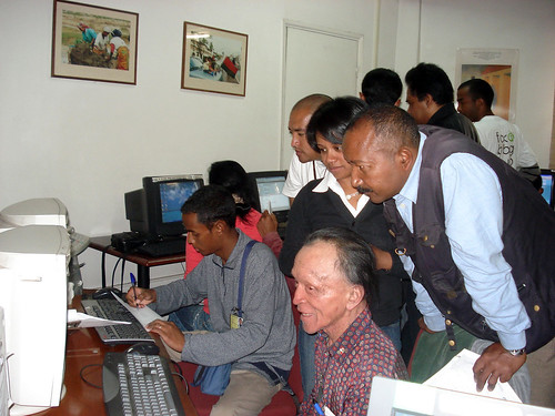New Media Workshop For Malagasy Journalists At The APC  - Photo by Tahina