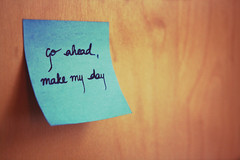 It's a simple request [Explored!]. (nawalieex3) Tags: blue make ahead handwriting day post go it impact challenge staygold sudden 365days