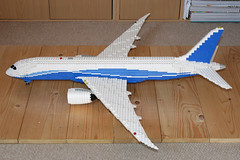 7871 (Aviation Dave) Tags: washington lego airbus boeing moc 787 dreamliner 7878 a350 xwb n787ba