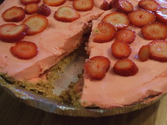 Strawberry Pie (literarymom) Tags: pink food pie dessert yummy strawberries jello strawberrypie pinkfood pinkpie