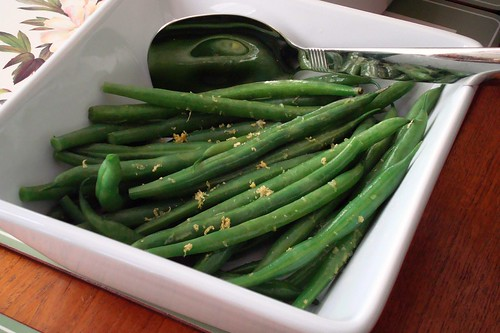 Green Beans with Lemon and Oil