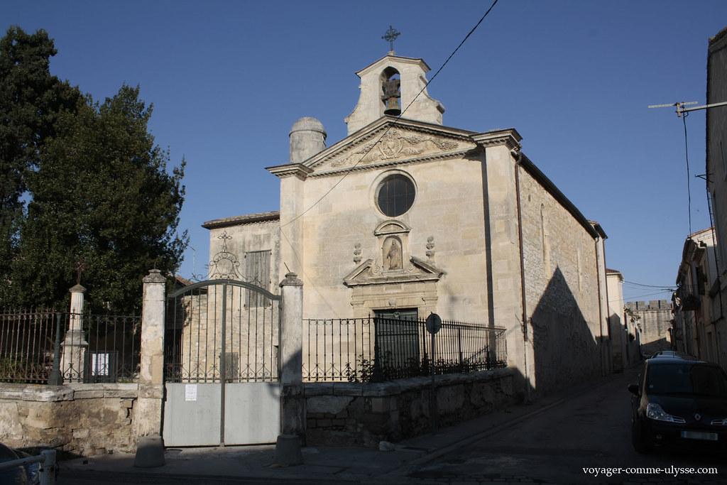 Capela da confraria dos penitentes cinzentos