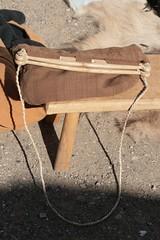 Rekonstruktion Haithabu-Tragetasche nach Funden in Haithabu WHH 10-05-2009