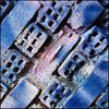 (Katerina.) Tags: blue lines wall pattern urbandecay bricks surface diagonal walls 500x500 linescurves haphazart haphazartblue haphazartbrickcombing ministract haphazartsquare