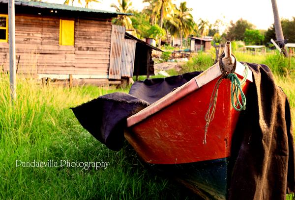 perahu kampung