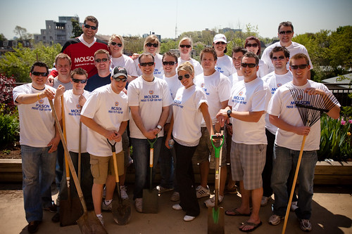 Molson Volunteer Program at Baycrest Hospital