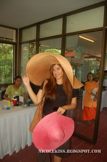 enormous straw hat
