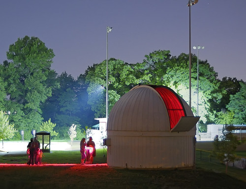 The Richard D. Schwartz Observatory at the University of Missouri - Saint Louis, in Normandy, Missouri, USA - exterior 2